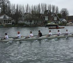 Five wins at Weybridge Winter Head